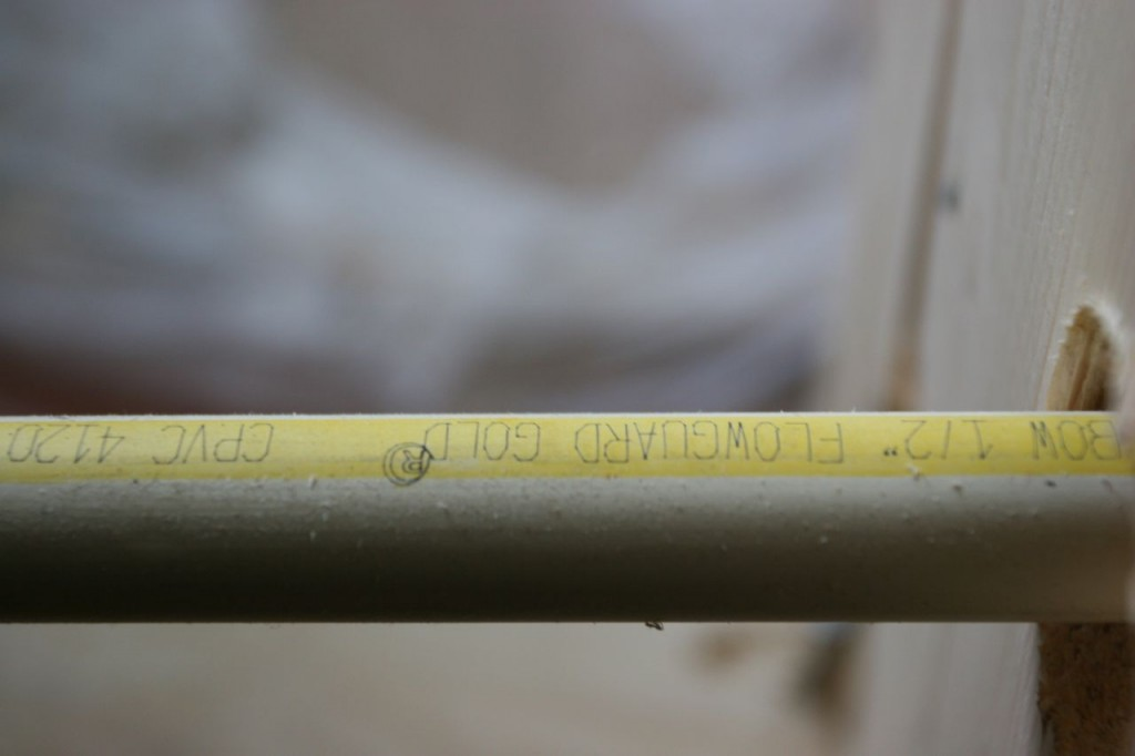 No copper tubing - is now a PVC-type product. How modern!