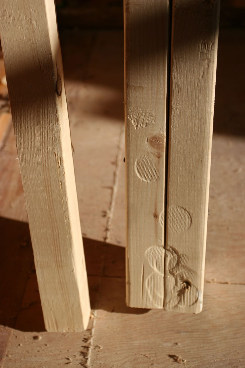 Hammer patterns are quite lovely. Makes me think of forensic science.
