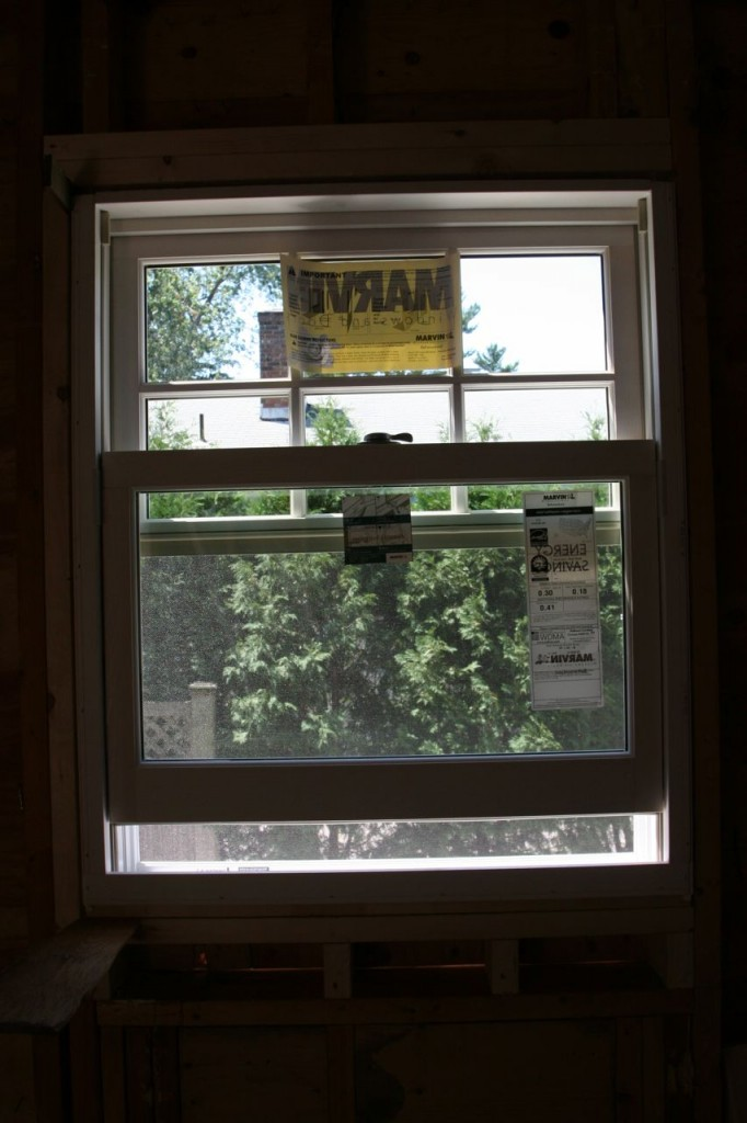 More choral singing - we have a larger kitchen window!