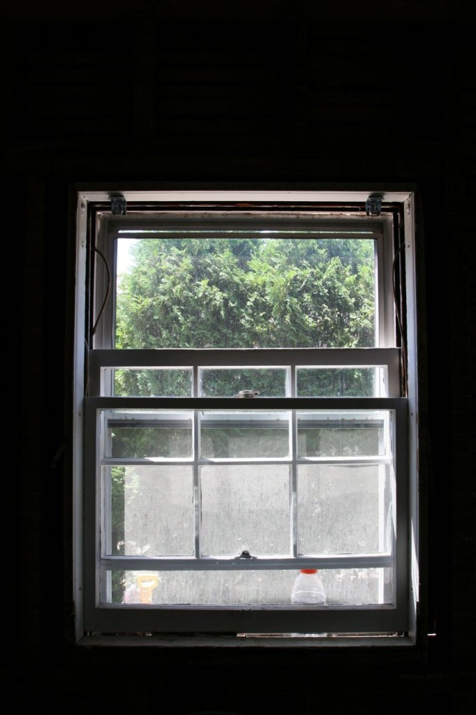 Good-bye old window. You've served us well.
