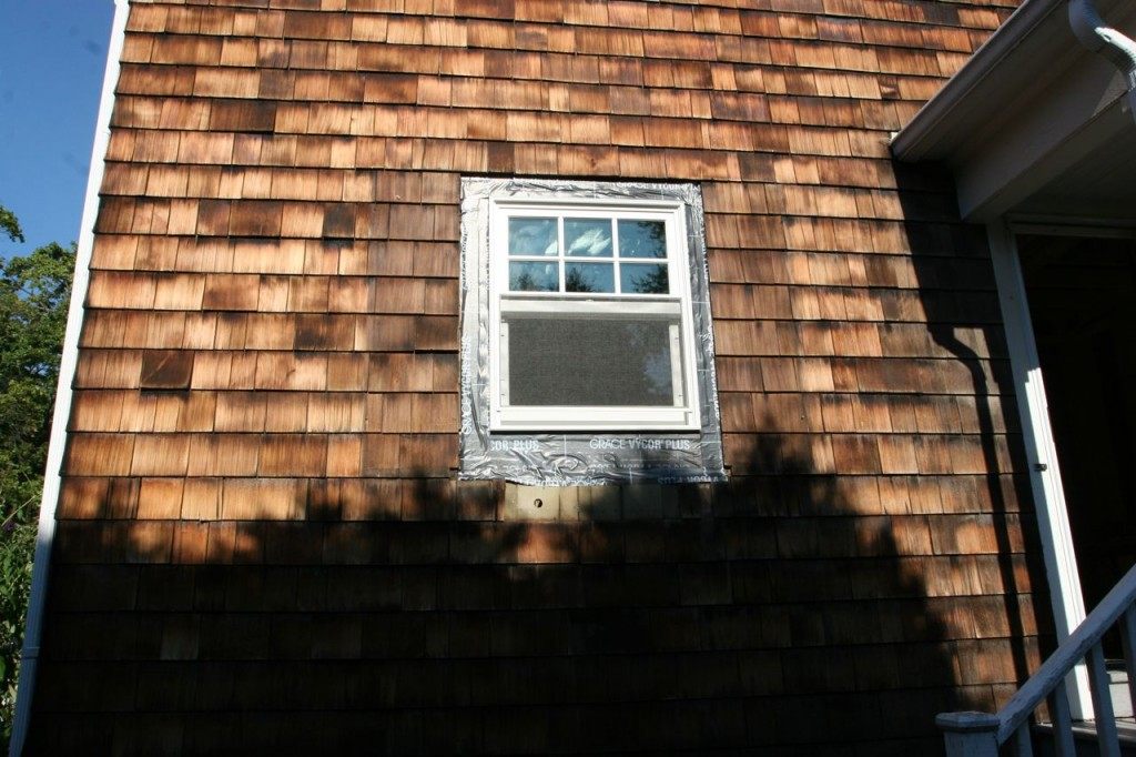 I don't really even miss the shutters. Trimmed out, these windows are going to be sick. In a good way.