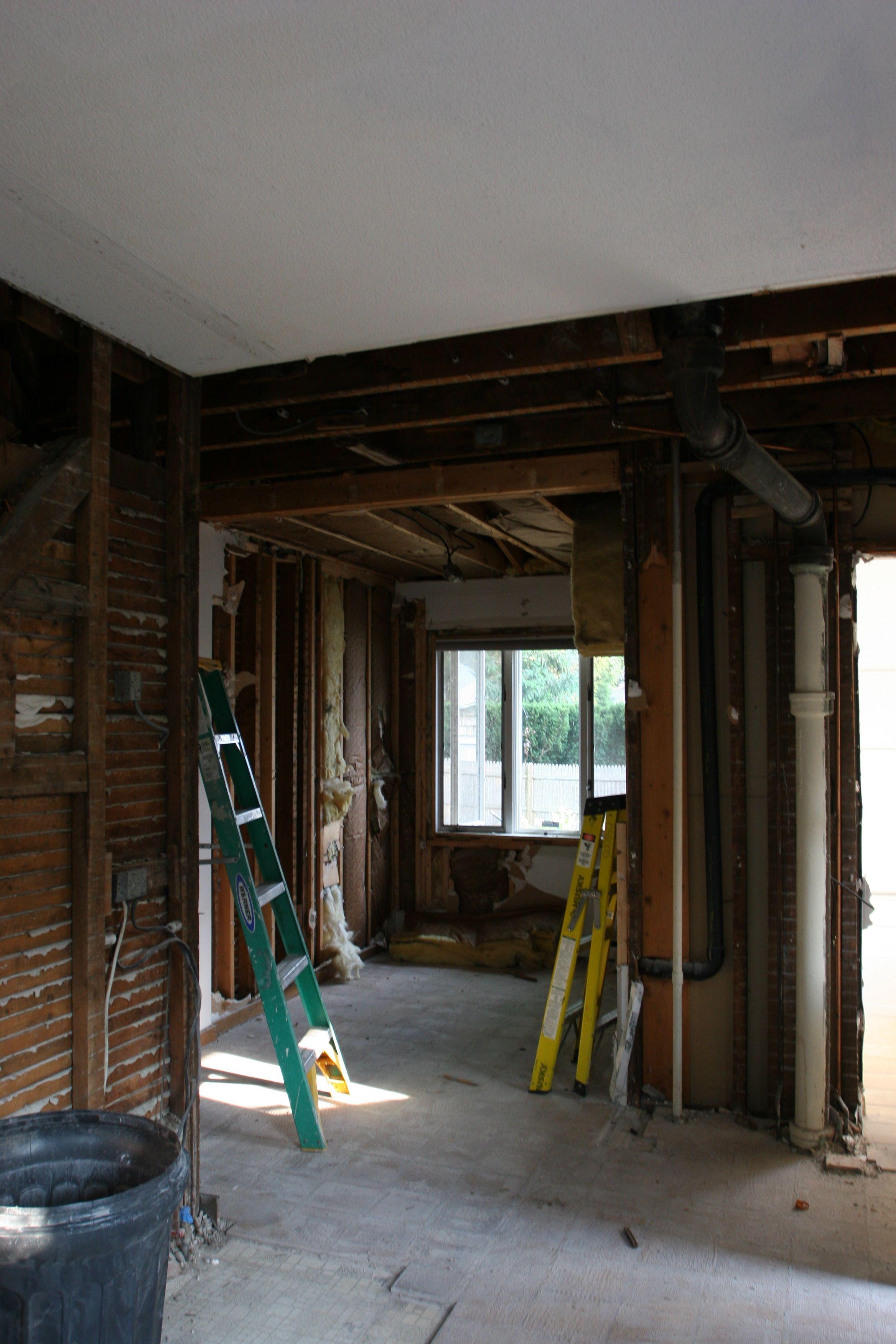 View of former hair studio/breakfast nook.