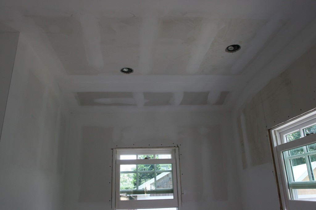 Saturday: ceiling above the baking nook.