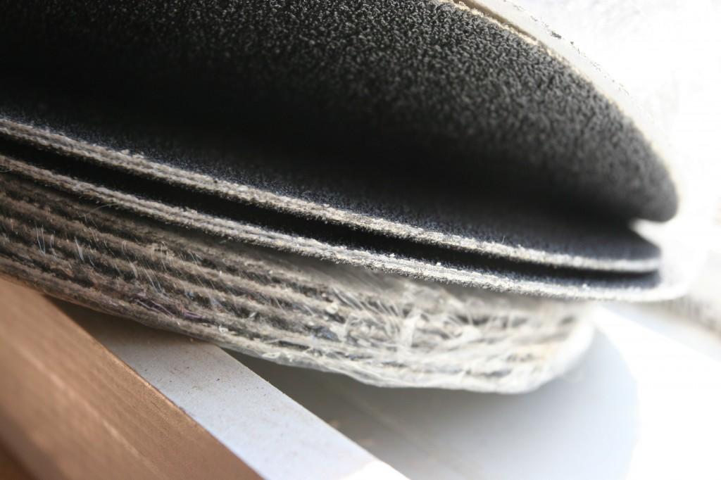 Sanding disks.
