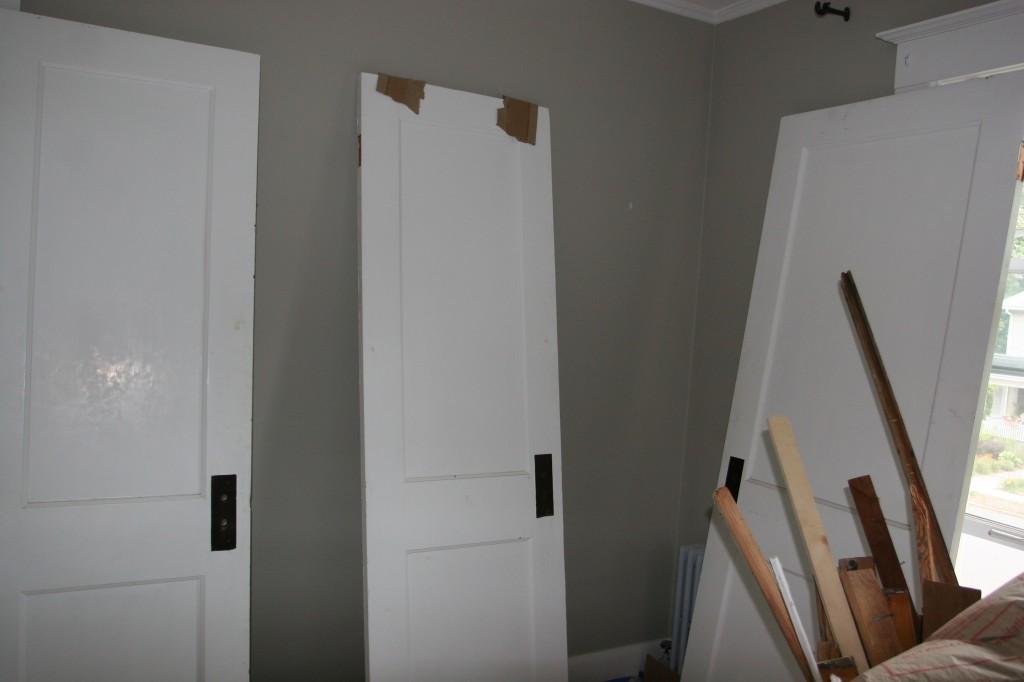 Doors sans hardware.