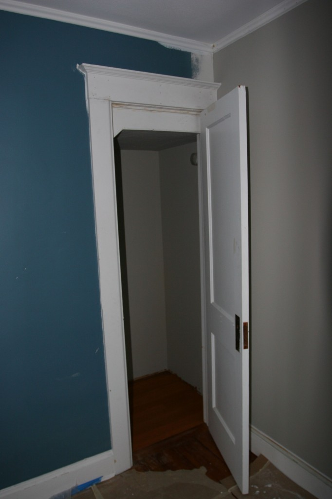 "Door! The previous door was bigger. Now we have a cute, petite 24"" door for a generous closet. LOVE!"