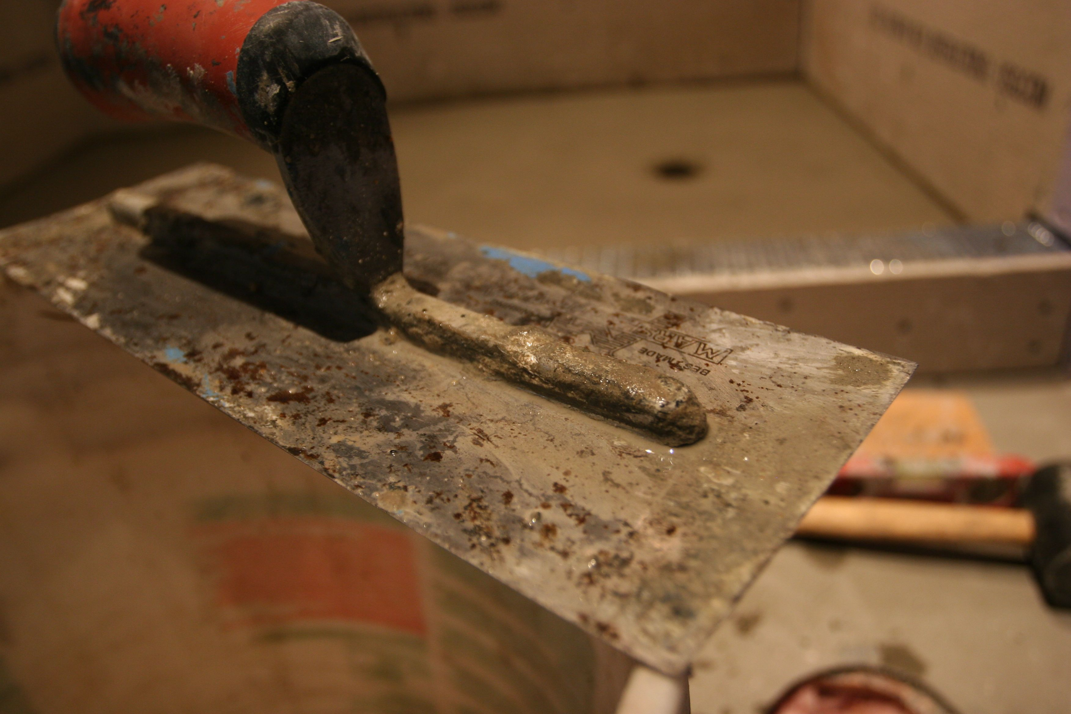 Awesome tool, all mucky with goo.