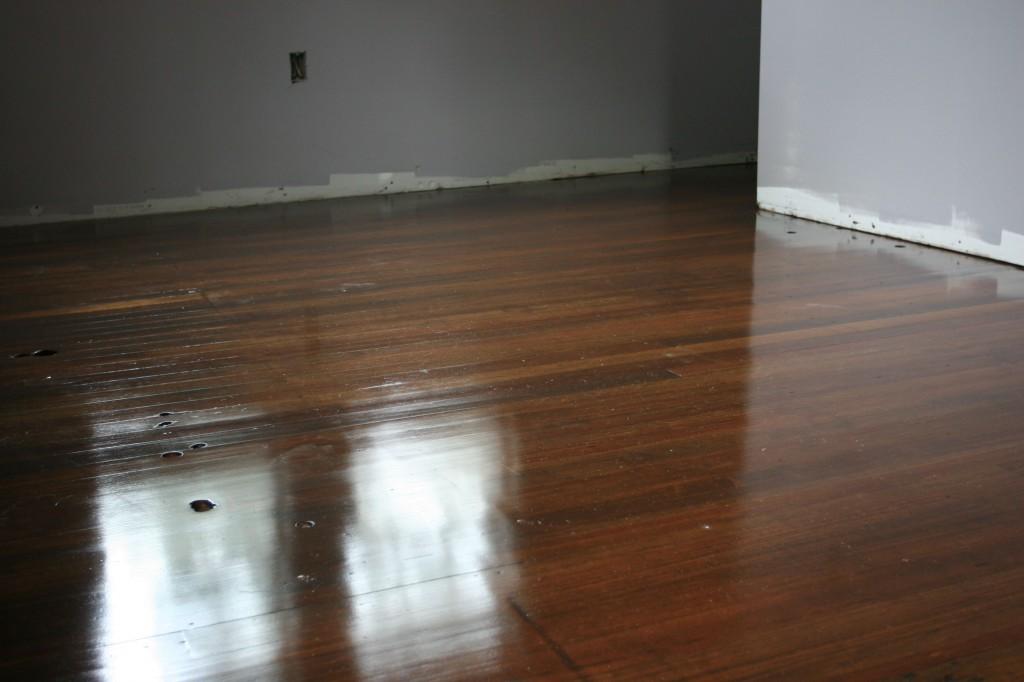 One last peek at the floors.