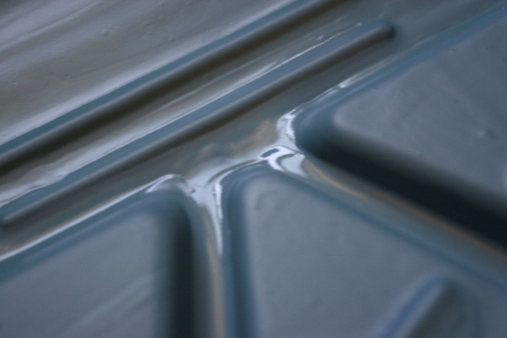 These paint trays remind me of Star Trek. Which reminds me, I need to watch that again.
