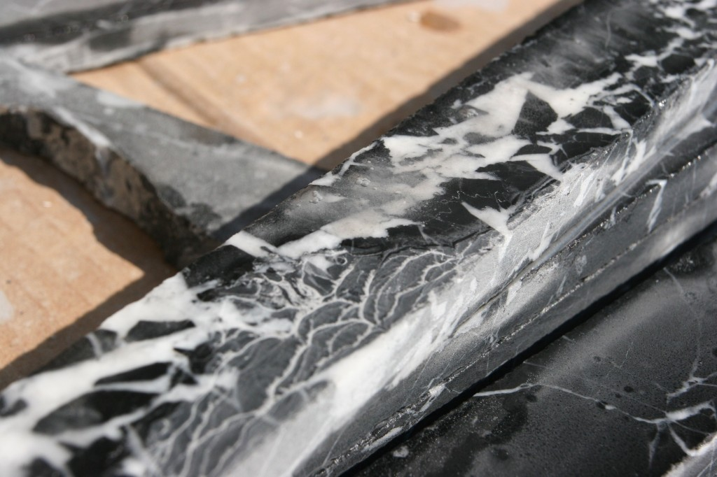 More marble, in a pile.