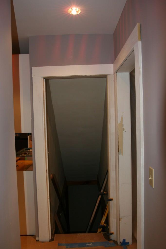 The beginnings of doors: trim, jambs and head casings.