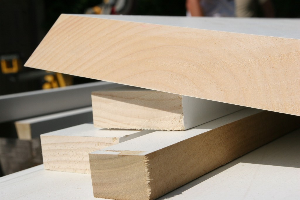 """We had to get what they call """"five quarter"""" (aka 5/4) wood stock for the head casing boxes. It's mighty beefy."""