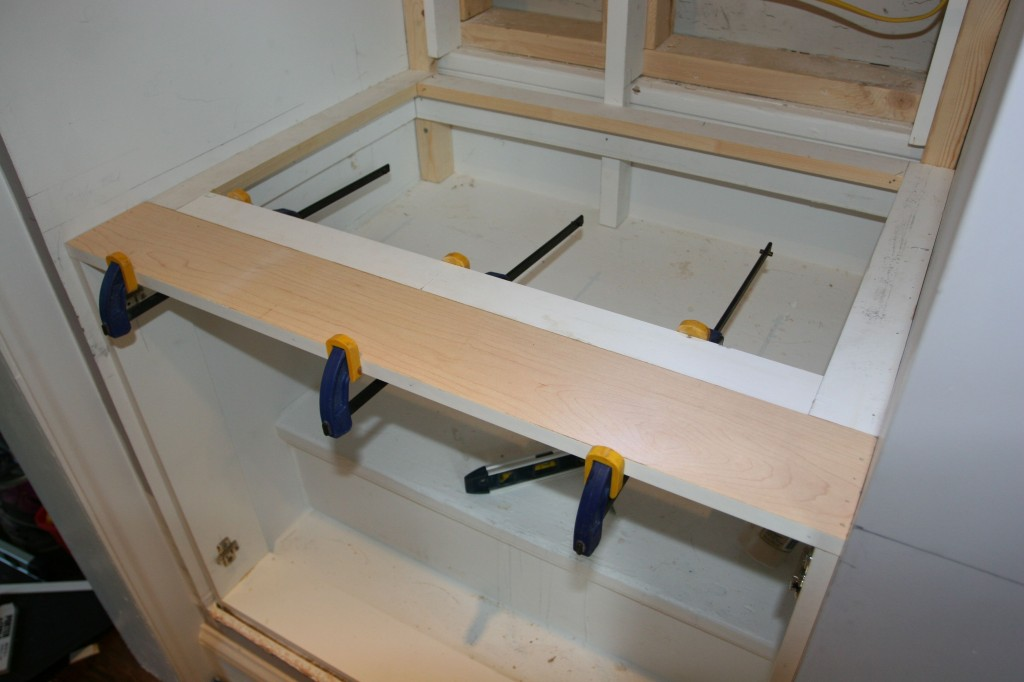 Clamps on the extra bit of support.