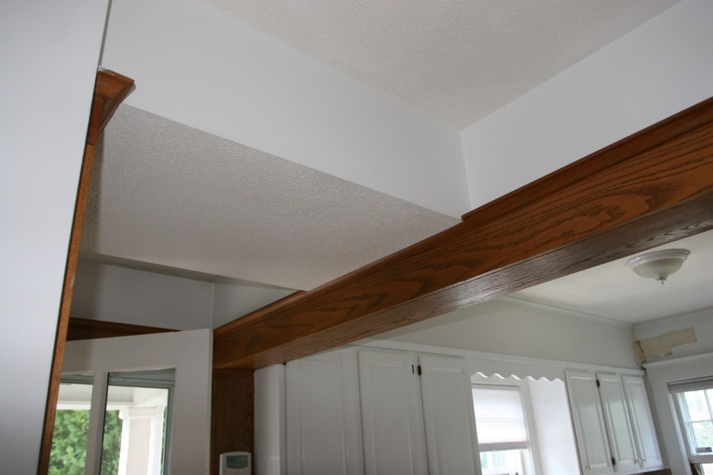 Soffit City, sweetheart. Before.