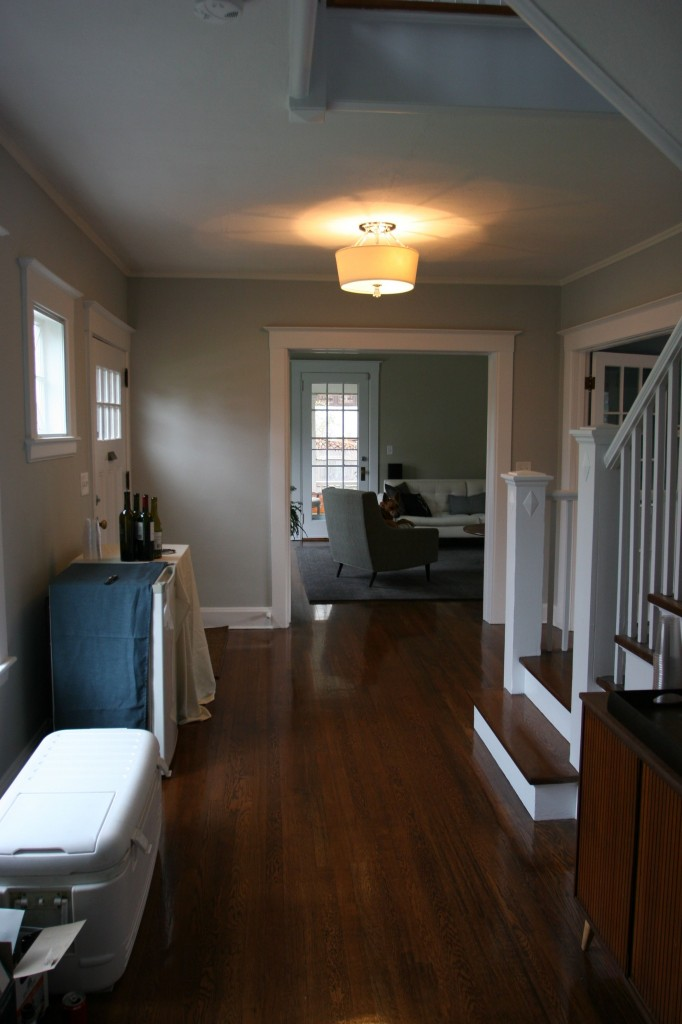Front hall, AFTER.