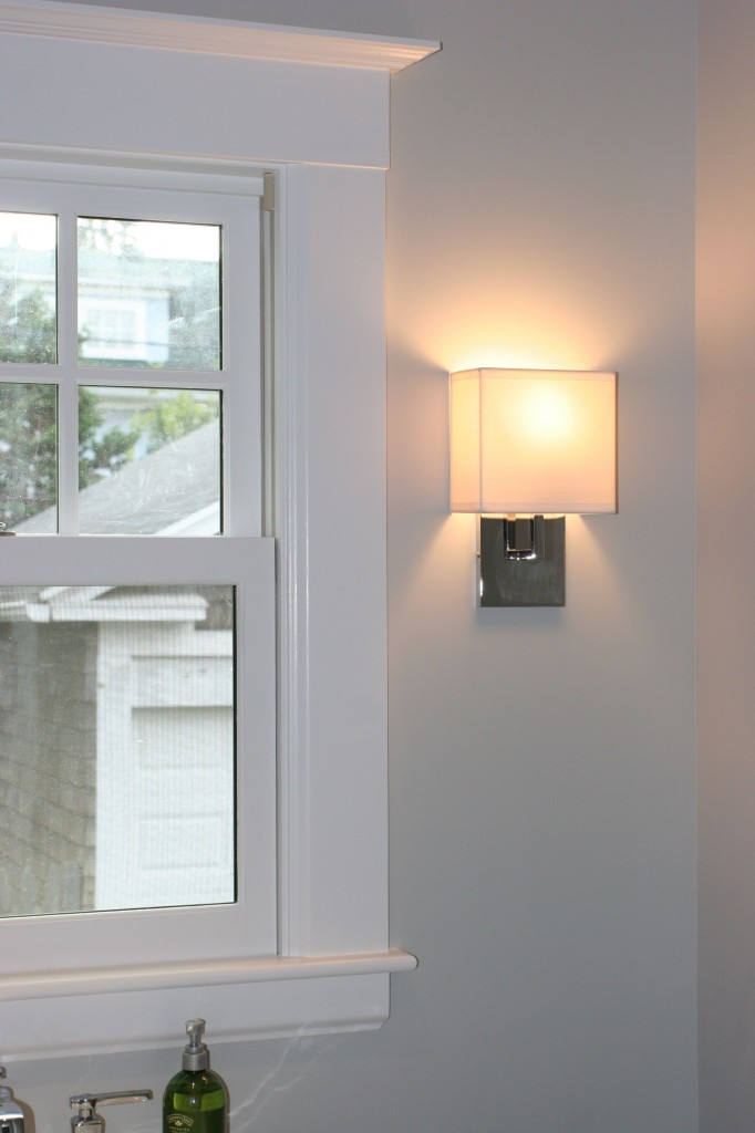 I loved our little George Kovacs sconce. It looks so much like a little lamp.