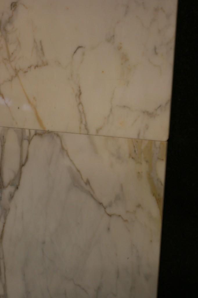 Ok, so he has a point. Still, I love marble.