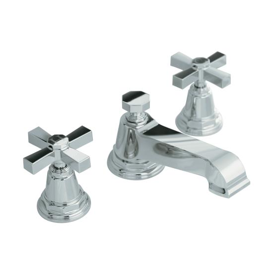 Our faucet. I wanted something slightly reminiscent of the antique fixtures, mixed with a bit more of a modern vibe. I'm in love with this suite from Kohler: pinstripe series (sans pinstripes).