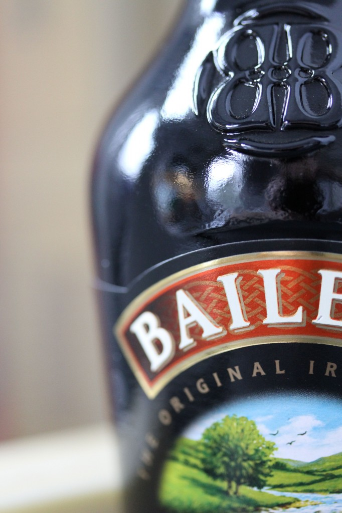 The all-important ingredient: Bailey's.