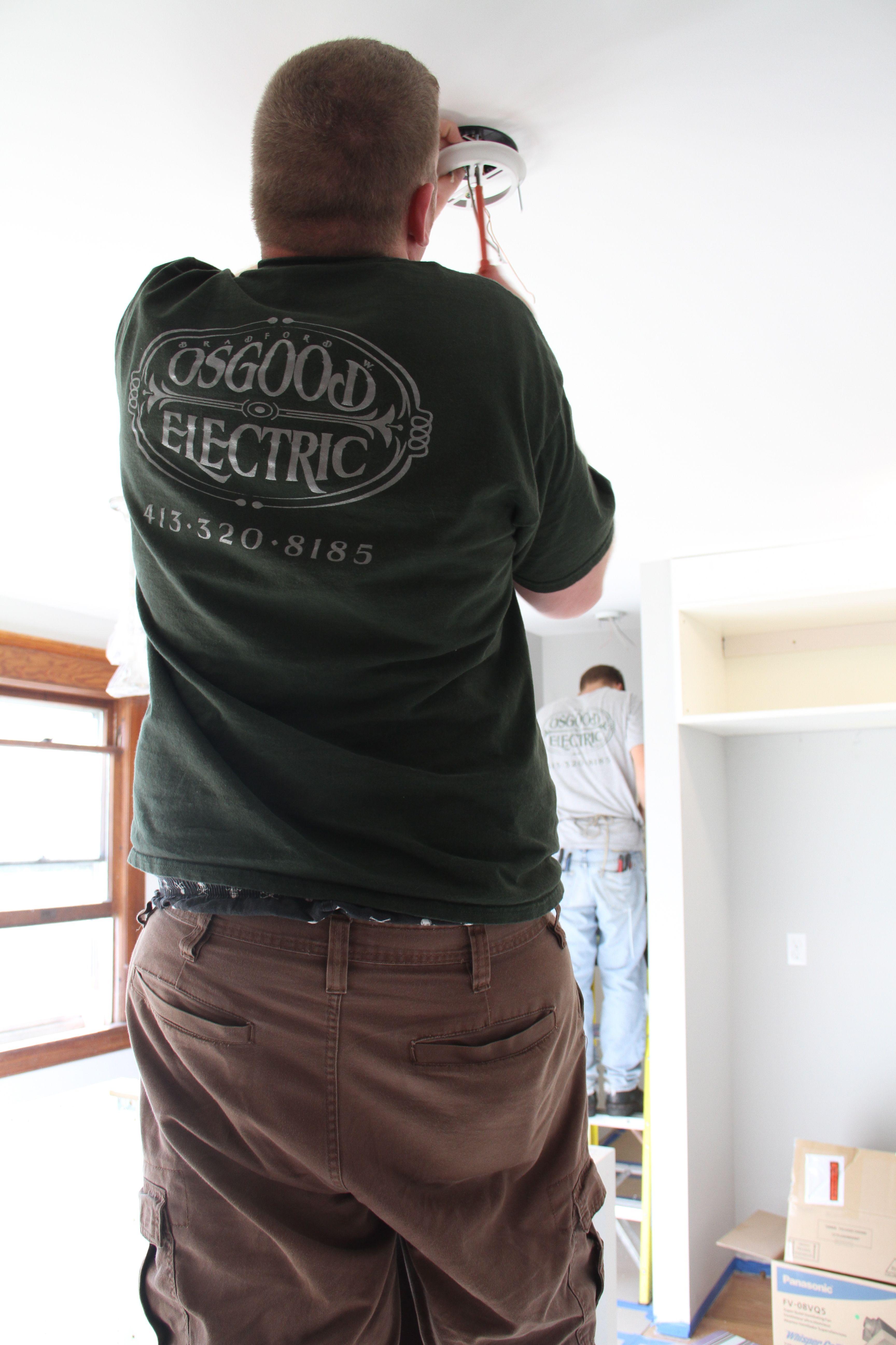 Brad and Eric hard at work.