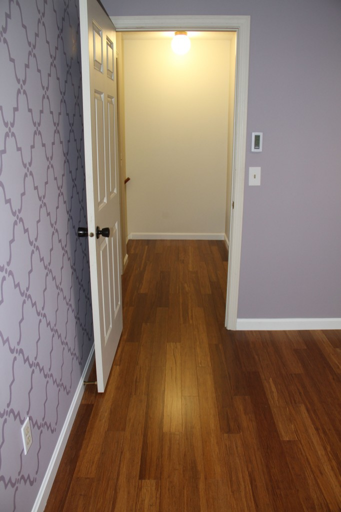 AFTER: Master bedroom to hallway.