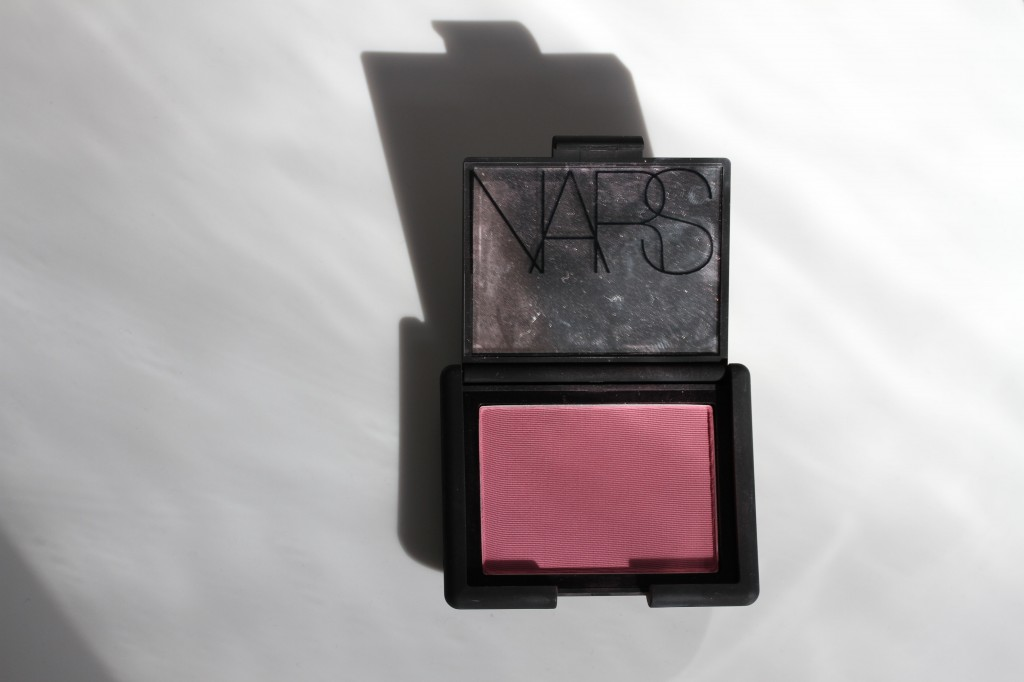 NARS Mata Hari blush. Expensive, but I suspect it'll last me nearly forever.