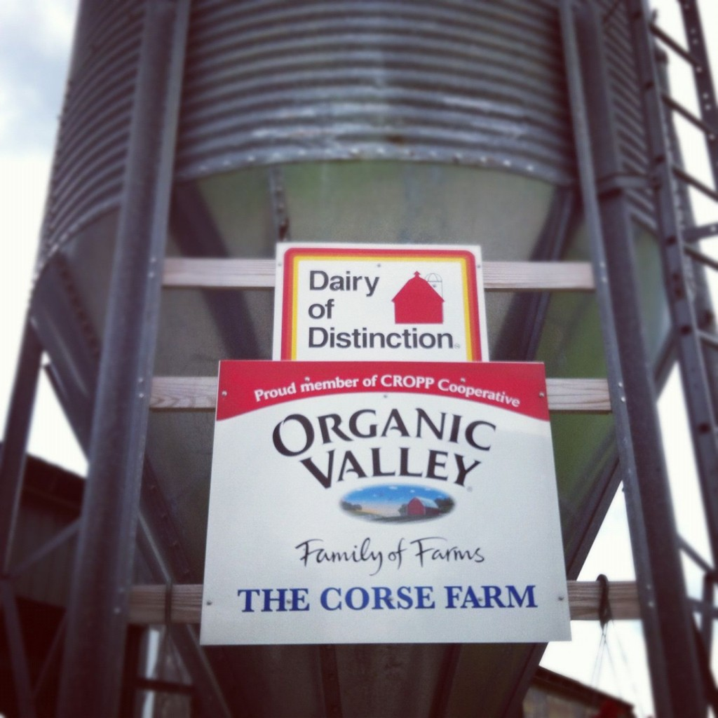 How cool is it that I not only know who's making my dairy products, but I've actually visited the farm?