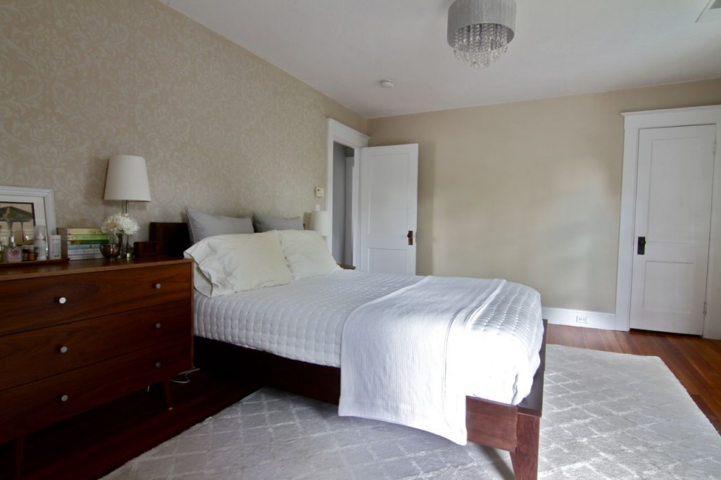 Second floor of the home also features central air conditioning, controllable from the master bedroom.