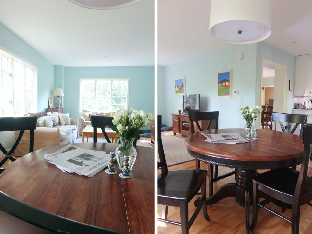 Wall color: Tidewater by Sherwin Williams.